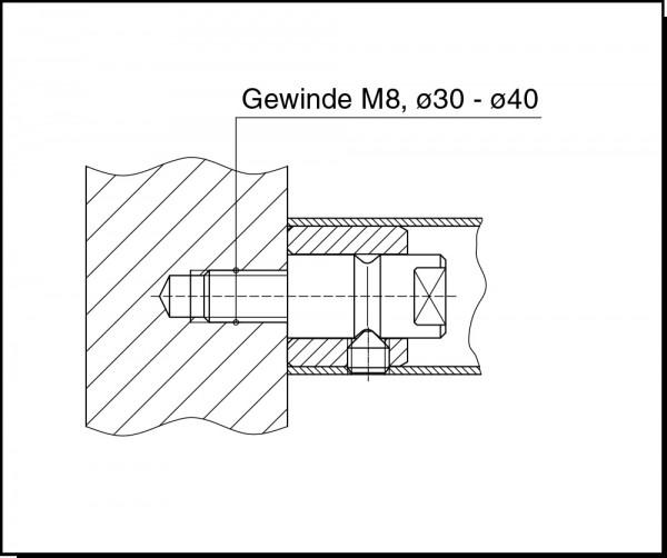 Türgriffbefestigung GZ 234